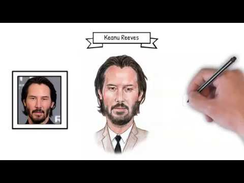 Portretvideo Keanu Reeves