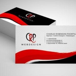 Visitekaartje CRP Webdesign Mockup