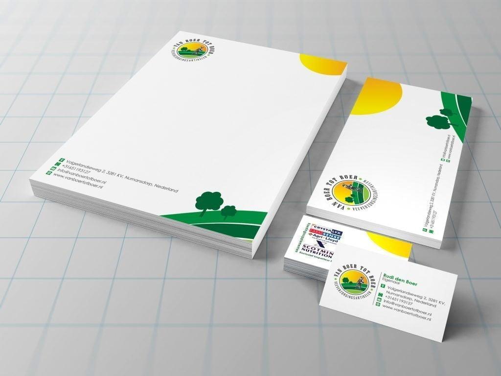 Stationery Design | Firma van Boer tot Boer