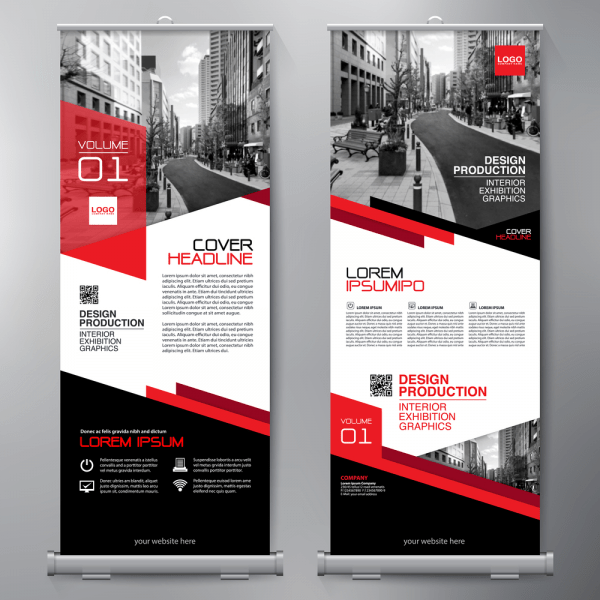 Preview Roll-Up Banner Design