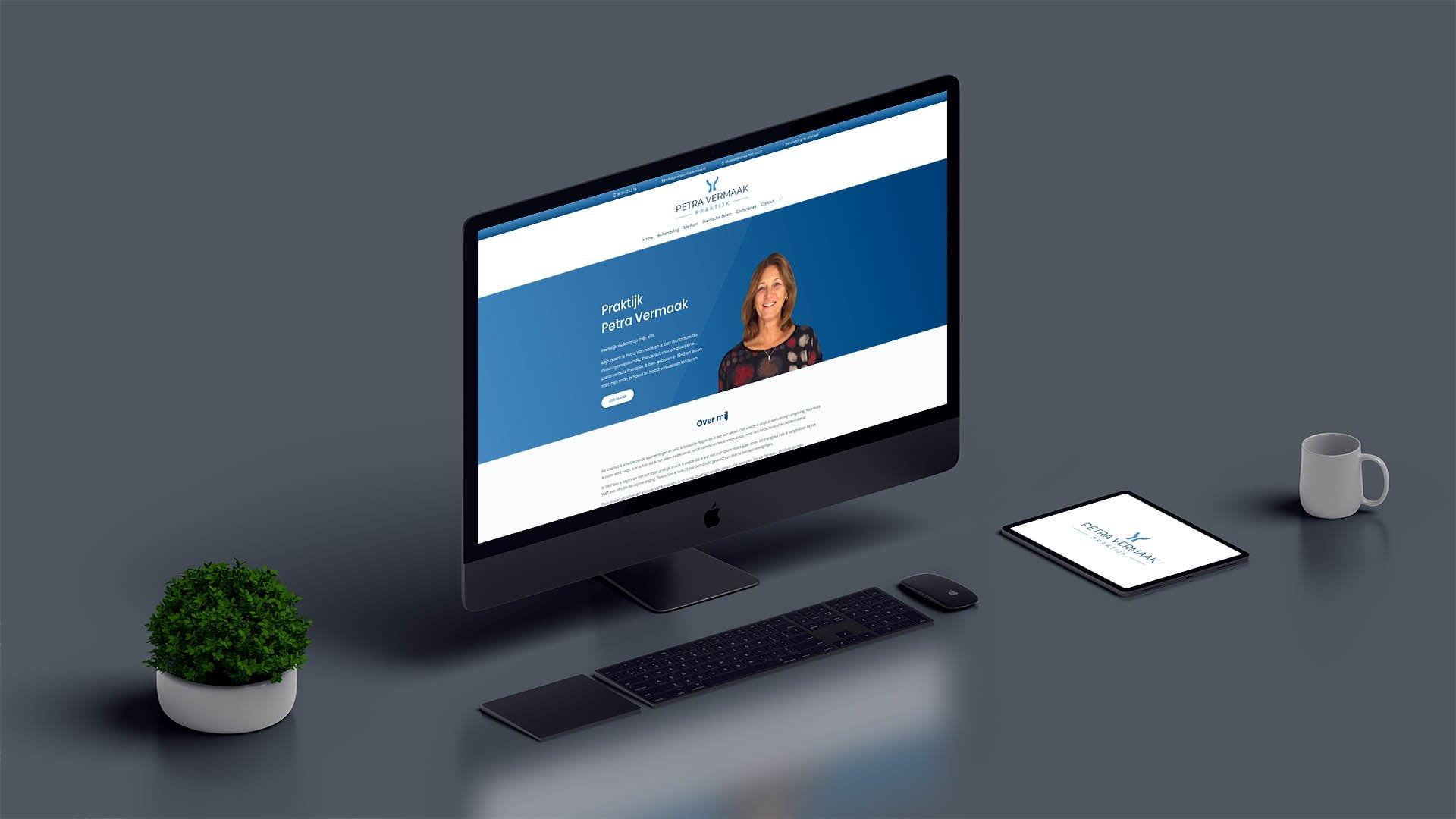 Website Preview Praktijk Petra Vermaak