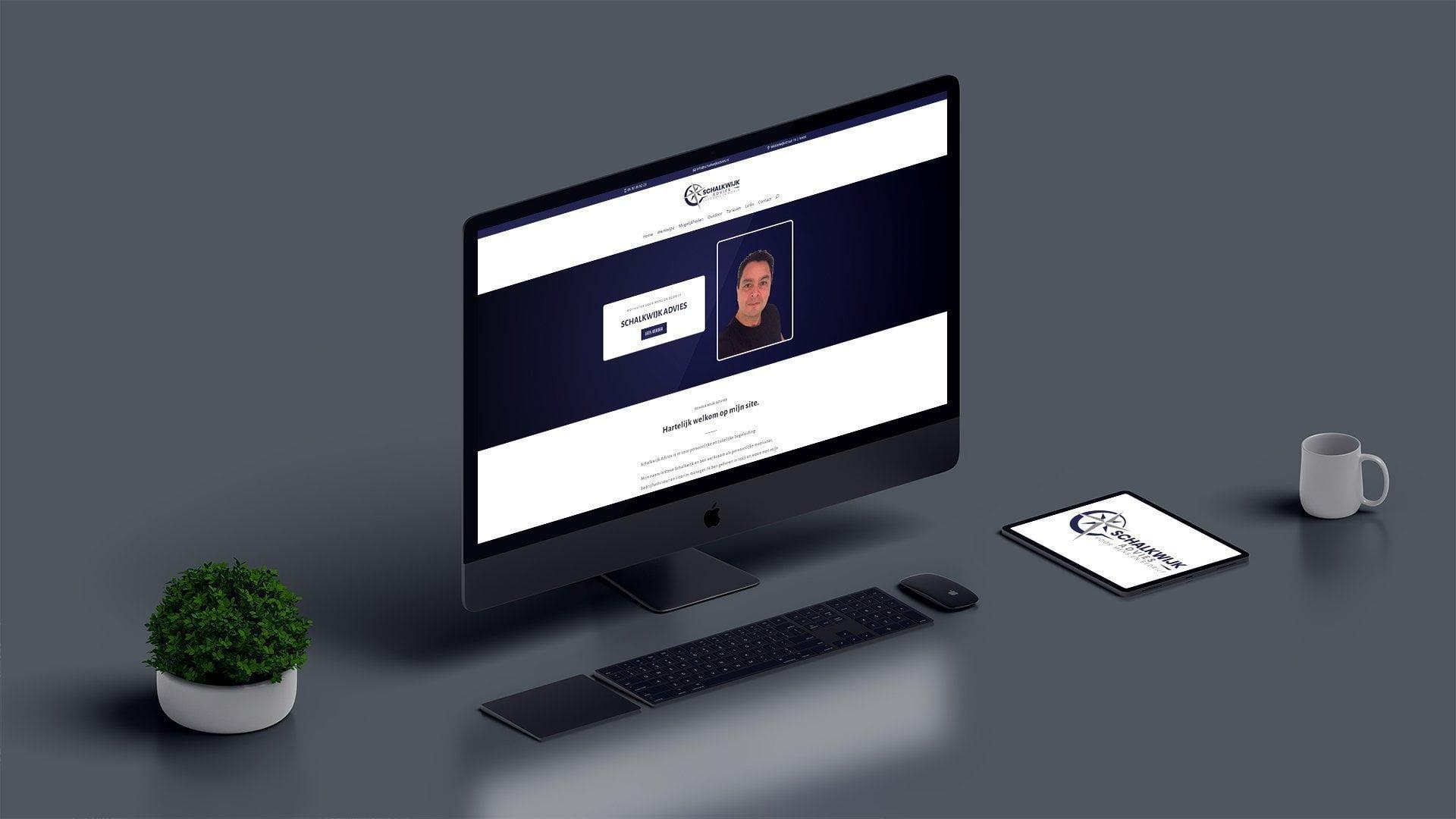 Website Schalkwijk Advies | Portfolio CRP Webdesign